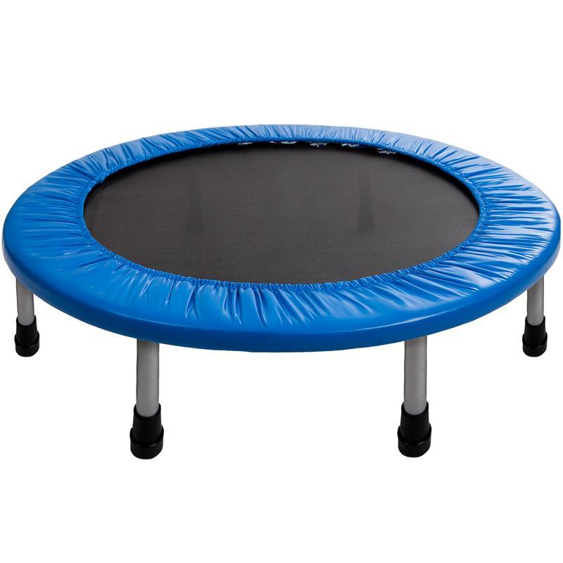 Pic_A:Trampolin Fitness-Trampolin Minitrampolin blau in Ø 91 cm oder Ø 101 cm