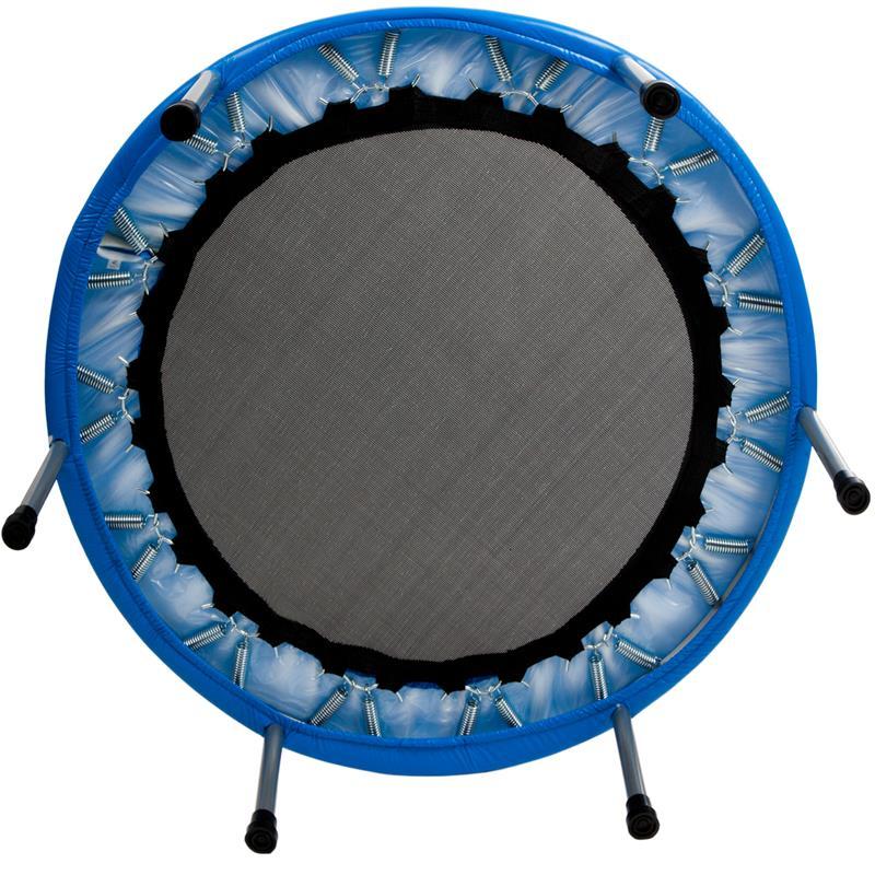 Pic_E:Trampolin Fitness-Trampolin Minitrampolin blau in Ø 91 cm oder Ø 101 cm