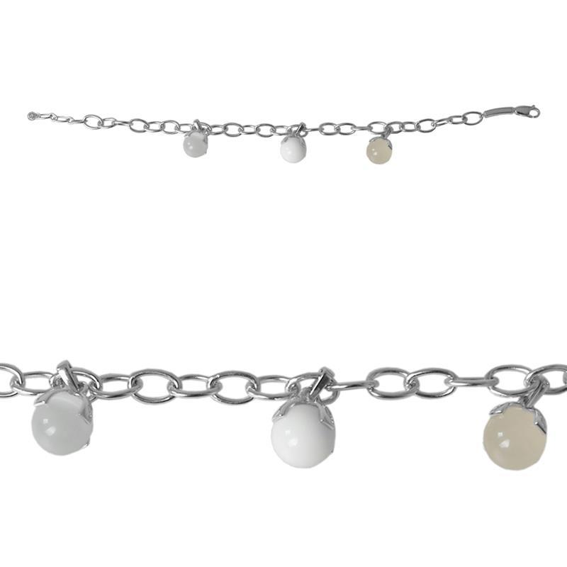 Pic_B:Silberhalskette und Silberarmband von MEXX