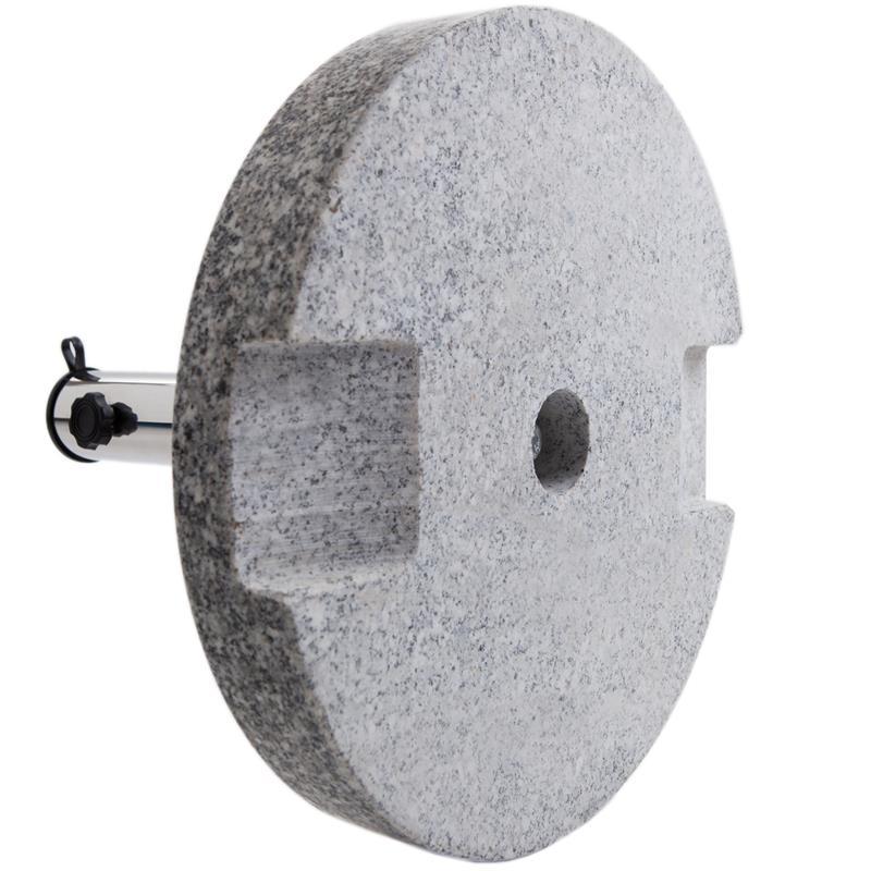 Pic_B:Schirmständer mit edler Granitplatte rund