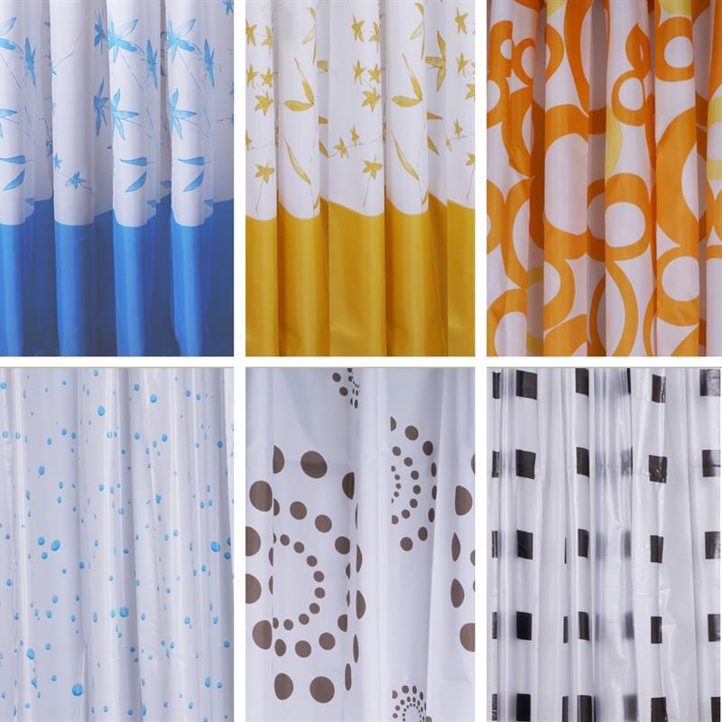 Pic_A:Duschvorhänge in verschiedenen Ausführungen