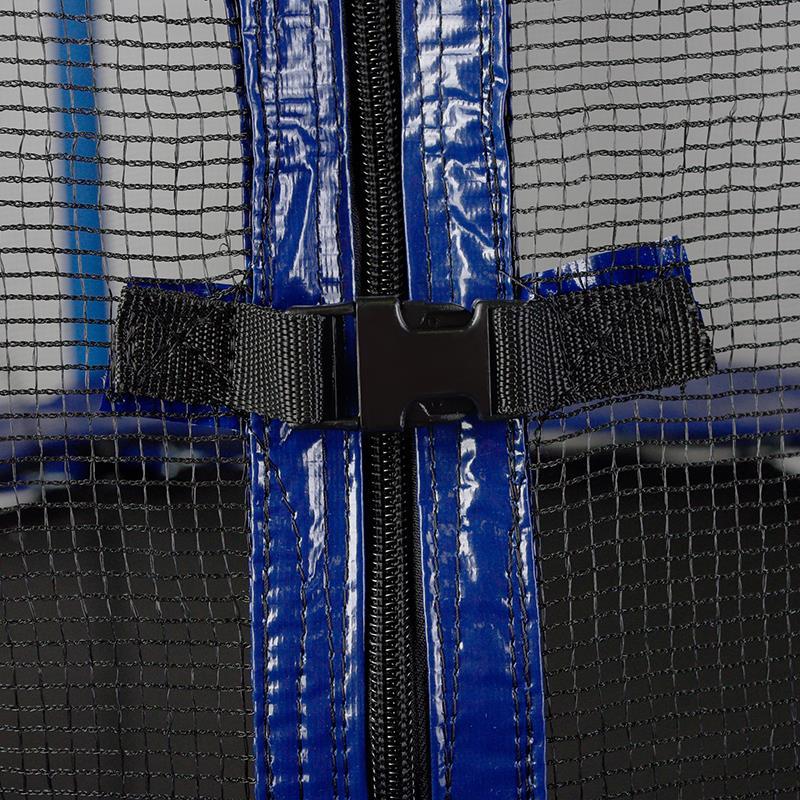 Pic_D:Trampolin mit Netz, Leiter und Schutzhülle 183 und 244 cm