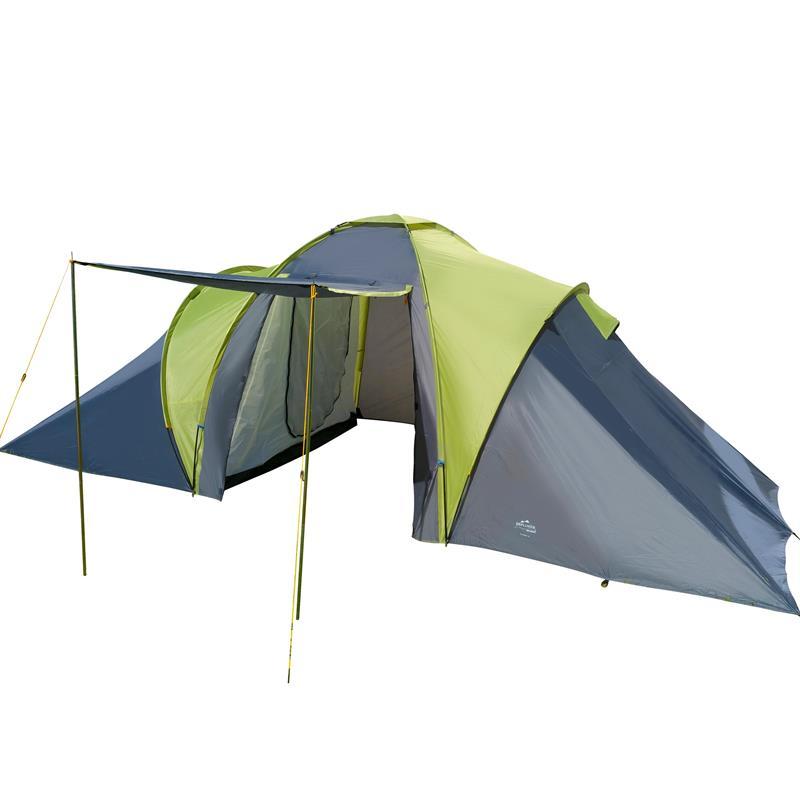 Pic_A:Zelt Tunnelzelt Familienzelt Camping-Zelt 4 Personen Sierra 4 oliv/dunkelblau 42107