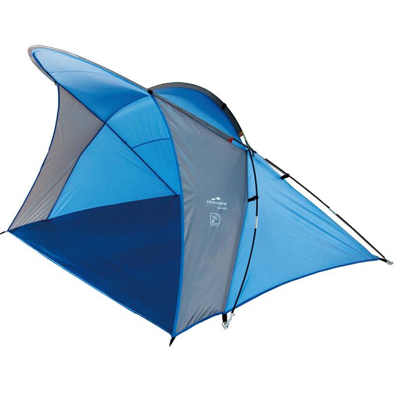 Pic_A:Strandmuschel blau 200 x 150 x 130 cm 46258