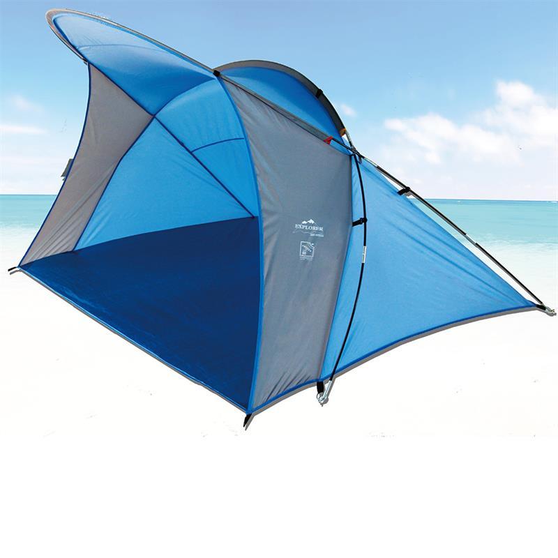 Pic_B:Strandmuschel blau 200 x 150 x 130 cm 46258
