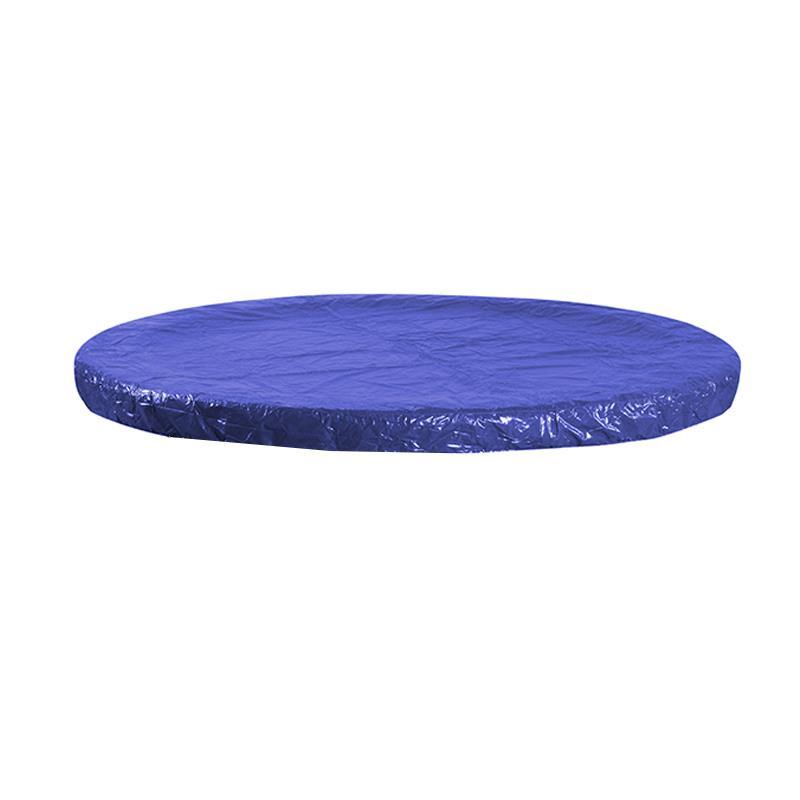 Pic_B:Trampolin Regenabdeckung blau