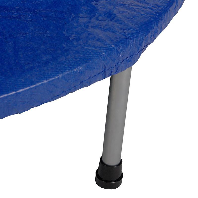 Pic_C:Trampolin Regenabdeckung blau