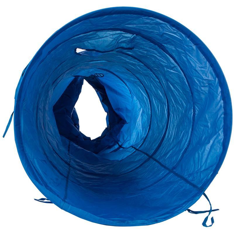 Pic_D:Hundetunnel Hunde Spieltunnel Agility Tunnel blau 2 m / 5 m Länge