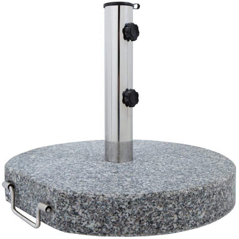 Pic_A:Sonnenschirmständer Granit 25 kg Ø 45 cm
