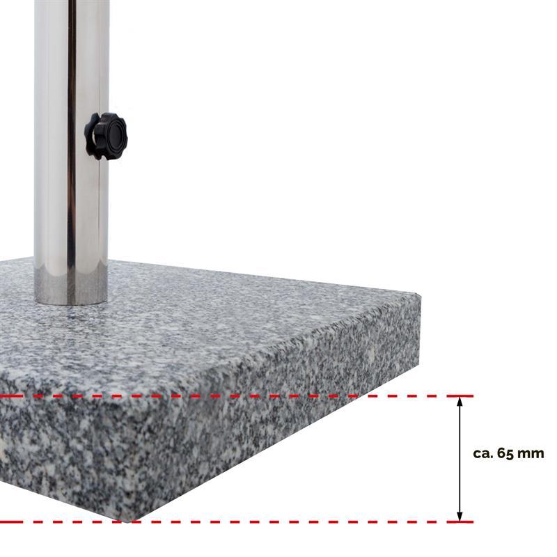 sonnenschirmst nder schirmst nder granit eckig 25 kg bei. Black Bedroom Furniture Sets. Home Design Ideas