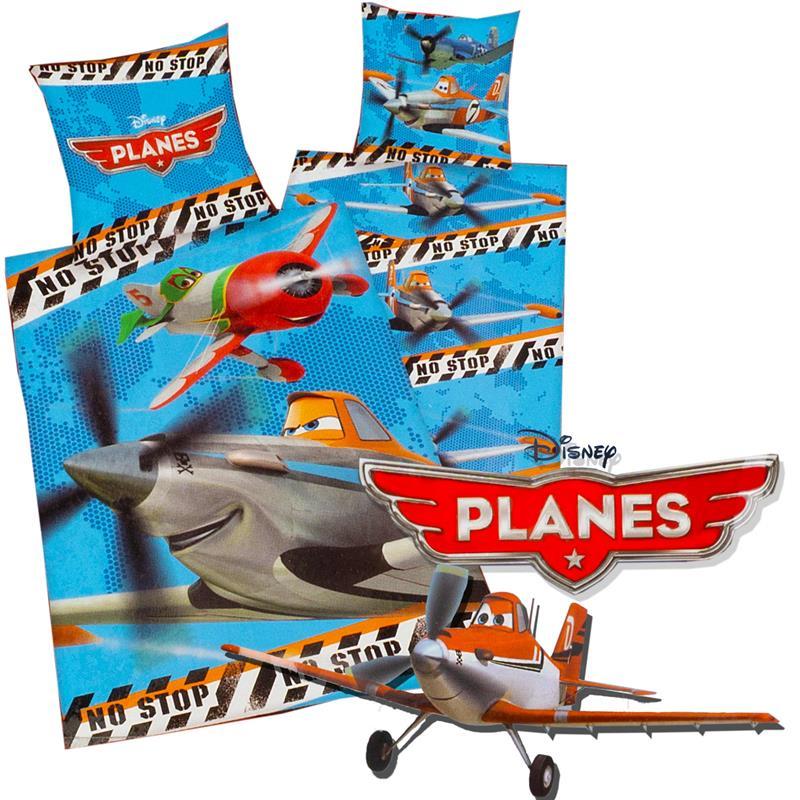 Kinder Bettwäsche Planes 65x70 Cm 140x200 Cm