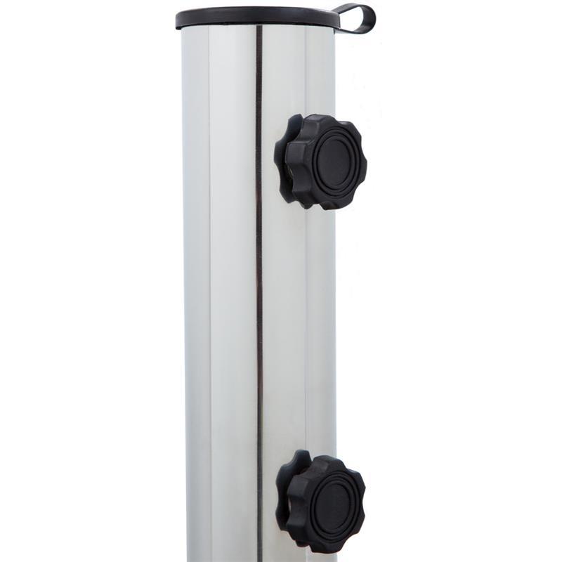 Pic_E:Sonnen-Schirmständer 30 kg, Granit, eckig mit Griffen/Rollen, Garten und Balkon 61019