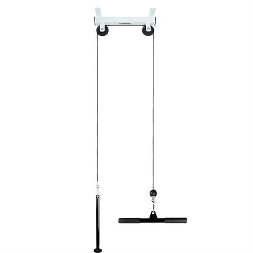 latzug kabelzug seilzug deckenbefestigung latzugstation latzugturm kraftstation ebay. Black Bedroom Furniture Sets. Home Design Ideas