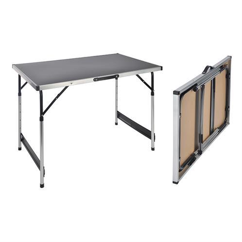 klapptisch campingtisch alu klappbar gartentisch balkontisch falttisch 100x60 cm ebay. Black Bedroom Furniture Sets. Home Design Ideas