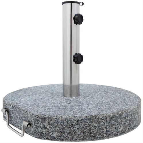 sonnenschirmst nder granit 30 kg rund mit rollen. Black Bedroom Furniture Sets. Home Design Ideas