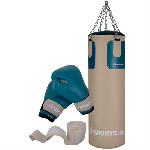 boxset boxsack gef llt 25 kg boxhandschuhe stahlkette halterung boxen kickboxen ebay. Black Bedroom Furniture Sets. Home Design Ideas
