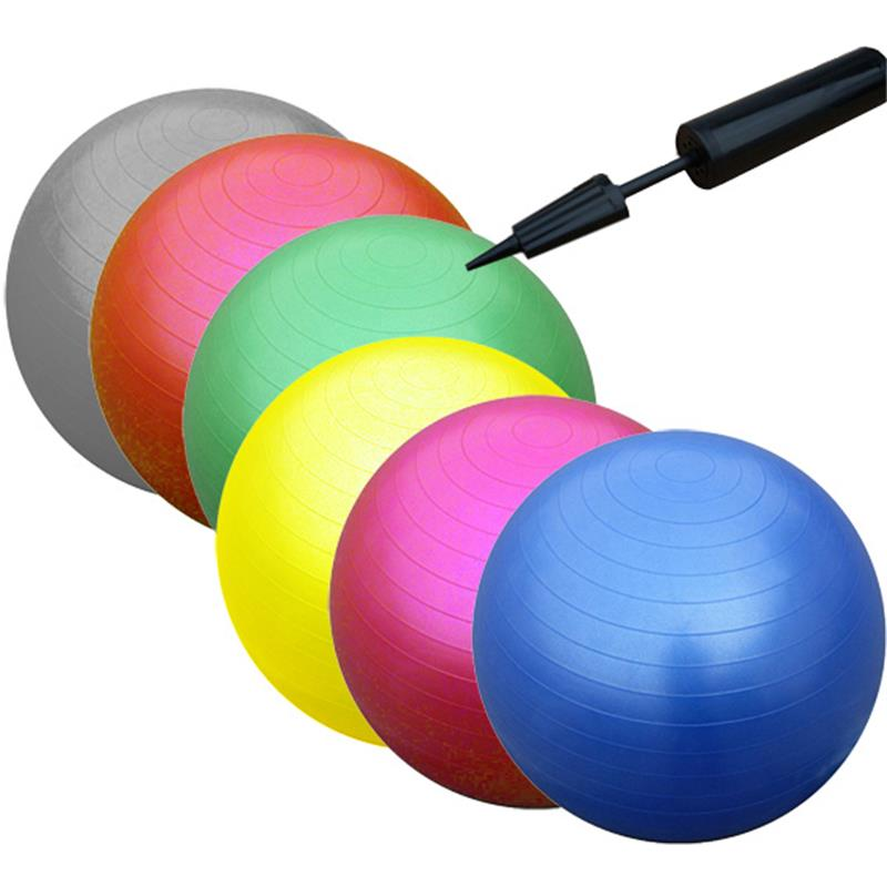 gymnastikball 65 cm sitzball fitnessball b rostuhl ball mit pumpe gymnastik ebay. Black Bedroom Furniture Sets. Home Design Ideas