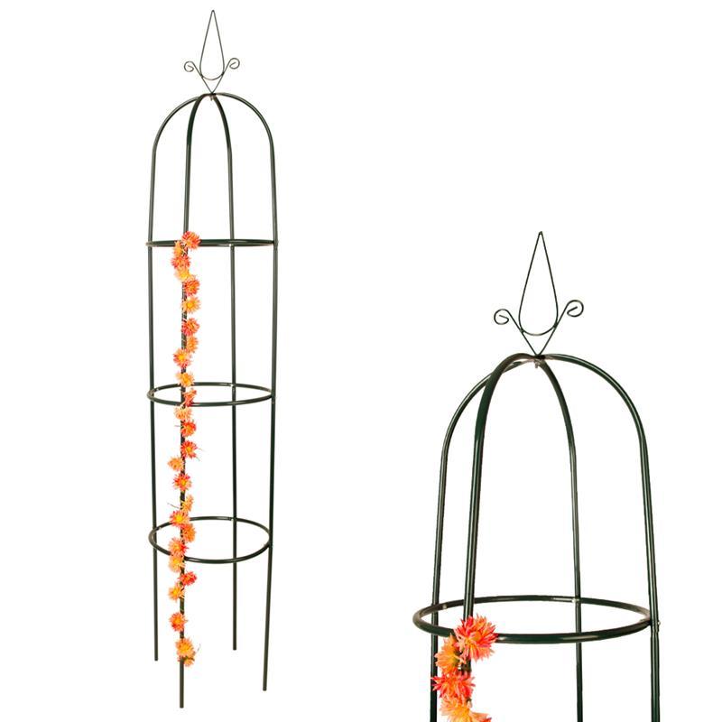 2er set rosenturm rankhilfe rosens ule metall rankgitter pergola obelisk s ule ebay. Black Bedroom Furniture Sets. Home Design Ideas