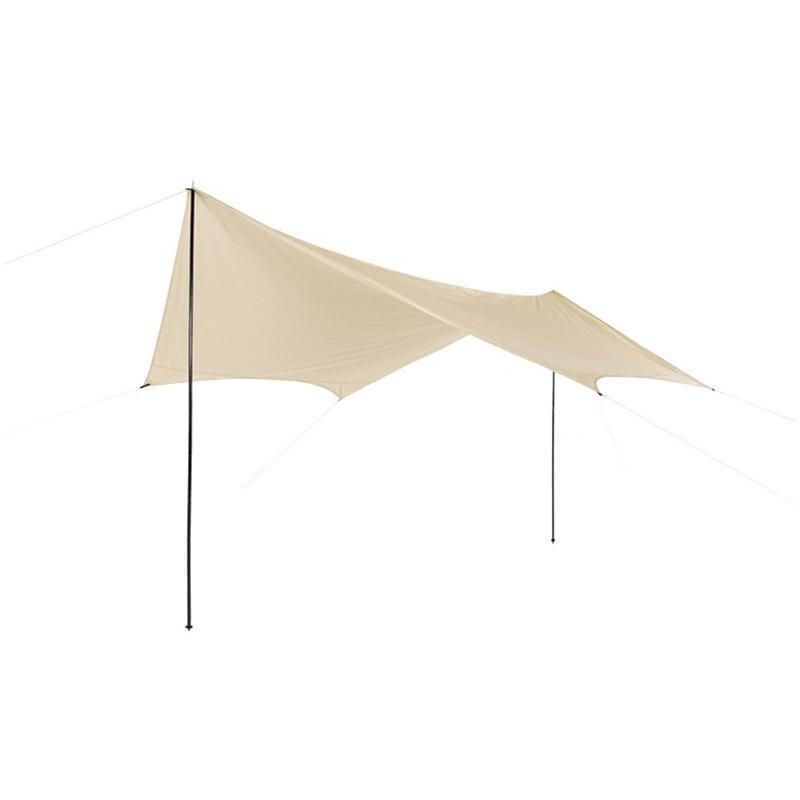 sonnensegel wasserdicht sonnenschutz tarp 430x350cm neu ebay. Black Bedroom Furniture Sets. Home Design Ideas
