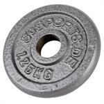 1,25 kg Hantelscheibe Hammerschlag 30 mm