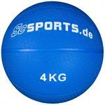 Medizinball blau 4 kg