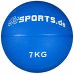 Medizinball blau 7 kg