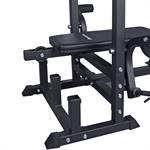 Profi-Trainingsbank mit 90 kg Hantelset