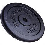 15 kg Hantelscheibe Gusseisen 30 mm