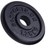 10 kg Hantelscheibenset Gusseisen 30 mm 8x1,25 kg