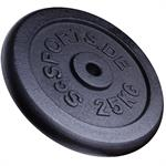 25 kg Hantelscheibe Gusseisen 30 mm