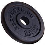 2,5 kg Hantelscheibe Gusseisen 30 mm 2. Wahl