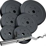 30 kg Curlhantelset Kunststoff 2x2,5 2x5 2x7,5 kg