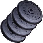 100 kg Hantelscheibenset Gusseisen 30 mm