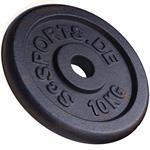 10 kg Hantelscheibe Gusseisen 28 mm 2. Wahl