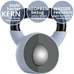 Kettlebell aus Gusseisen mit Neopren-Überzug 12 kg