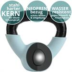 Kettlebell aus Gusseisen mit Neopren-Überzug 2 kg