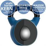 Kettlebell aus Gusseisen mit Neopren-Überzug 24 kg