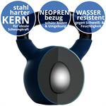 Kettlebell aus Gusseisen mit Neopren-Überzug 30 kg