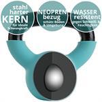 Kettlebell aus Gusseisen mit Neopren-Überzug 4 kg