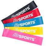 Elastisches Fitnessband 500 x 50 mm in verschiedenen Farben und Stärken
