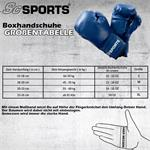 Boxhandschuhe Kunststoff blau 10 - 16 oz