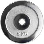 20 kg Hantelscheiben Set 4 x 5 kg Gewichte Chrom 25 mm