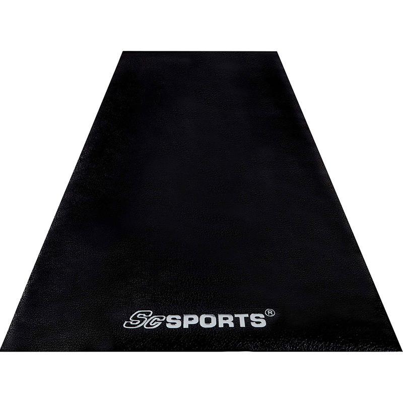 Bodenschutzmatte Unterlegmatte für Fitnessgeräte 120x60x0,6 cm