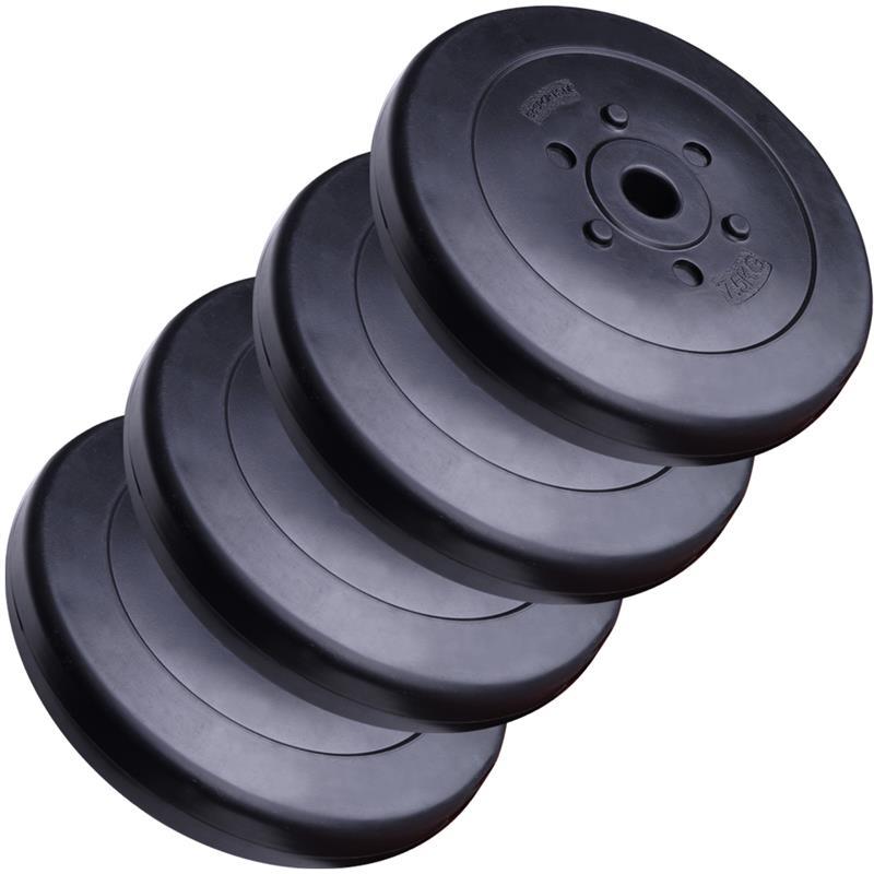 30 kg  Hantelscheibenset Kunststoff 30 mm