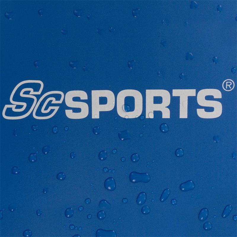 Fitnessmat Sportmat met draagriem 185 x 80 x 1 cm blauw