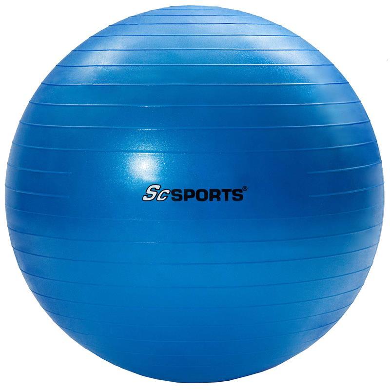 Gymnastikball 65 cm blau