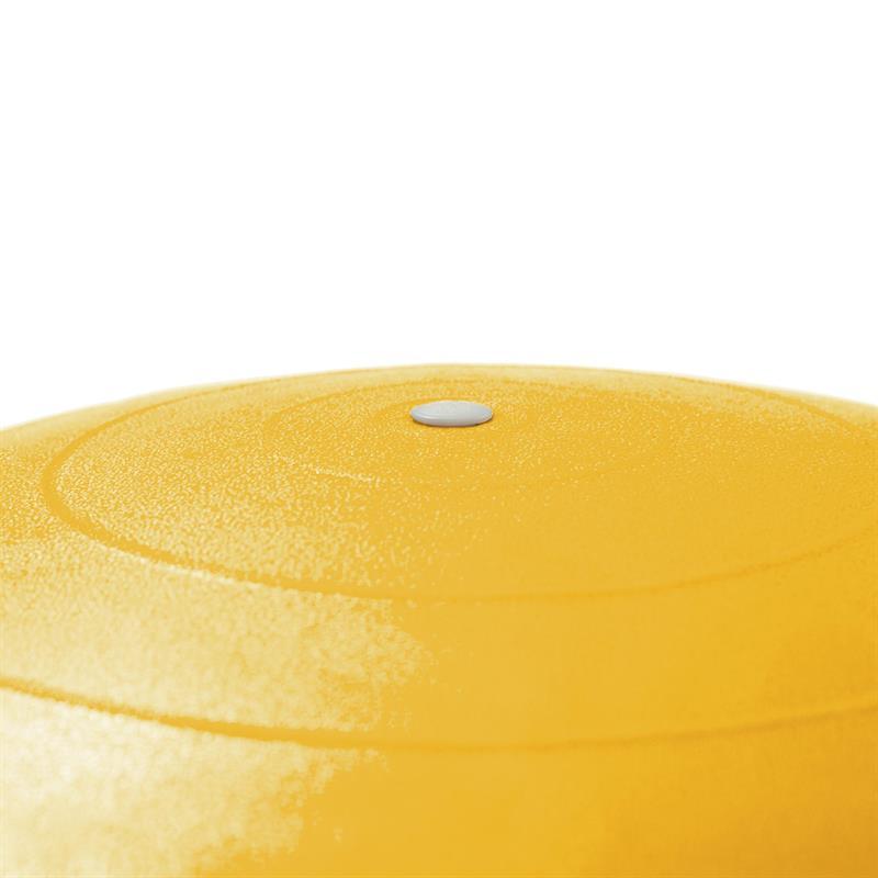Gymnastikball Sitzball 75 cm gelb