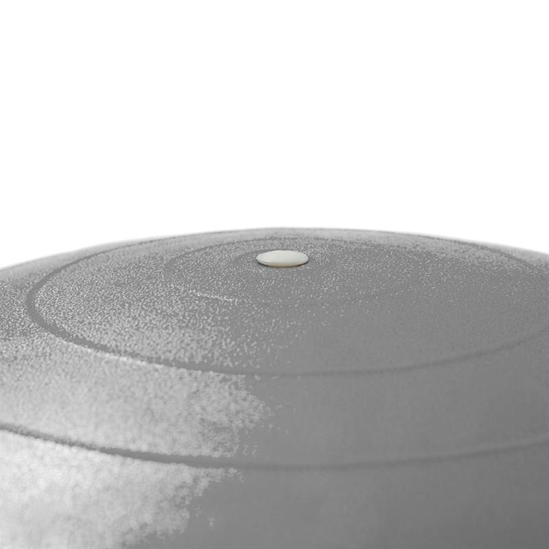 Gymnastikball Sitzball 75 cm grau