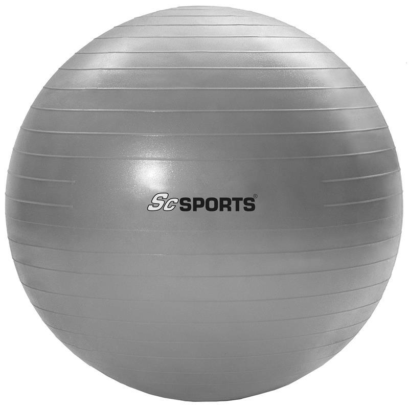 Gymnastikball Sitzball 65 cm grau