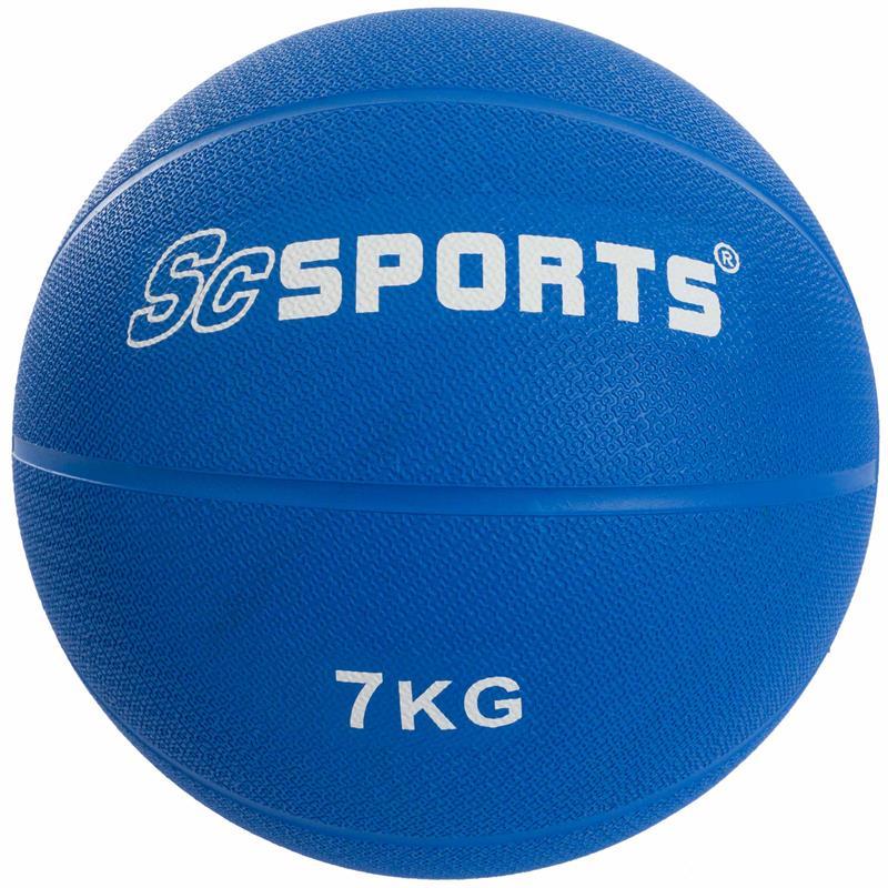 Medicine Ball blauw 7 kg